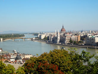 Budapest - View from Castle Hill